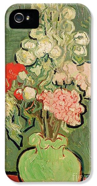 Bouquet Of Flowers IPhone 5 Case by Vincent van Gogh