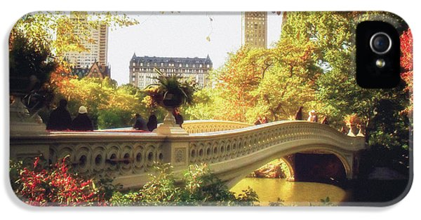 Bow Bridge - Autumn - Central Park IPhone 5 Case