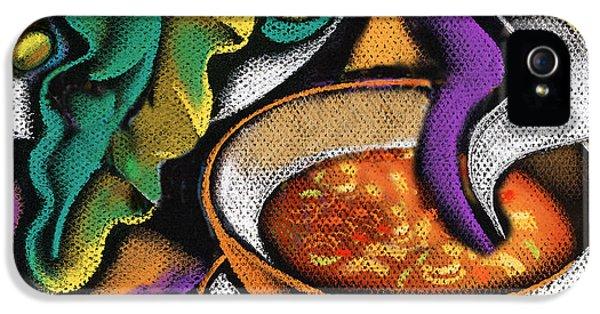 Bowl Of Soup IPhone 5 Case by Leon Zernitsky