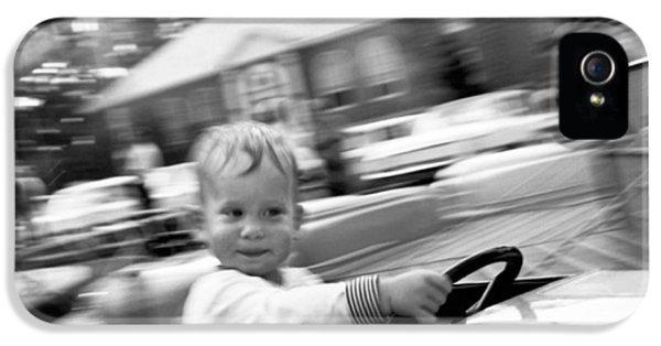 Boy On Ride At World's Fair IPhone 5 Case