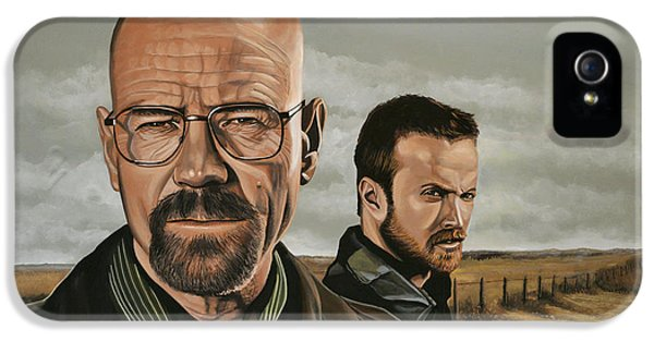 Breaking Bad IPhone 5 Case by Paul Meijering