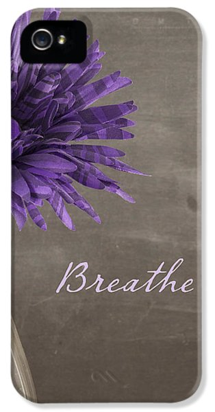 Breathe iPhone 5 Case - Breathe by Juli Scalzi