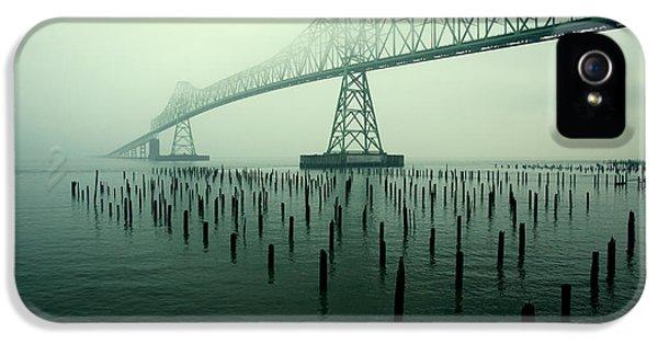 Bridge To Nowhere IPhone 5 Case by Todd Klassy