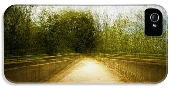 Bridge To The Invisible IPhone 5 Case by Scott Norris