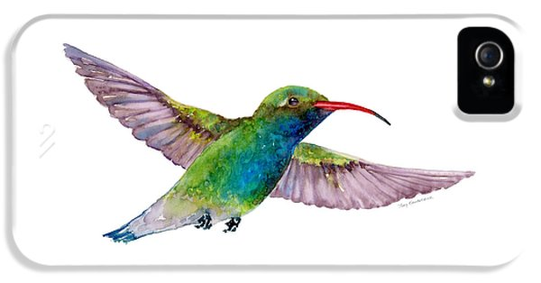 Broad Billed Hummingbird IPhone 5 Case by Amy Kirkpatrick