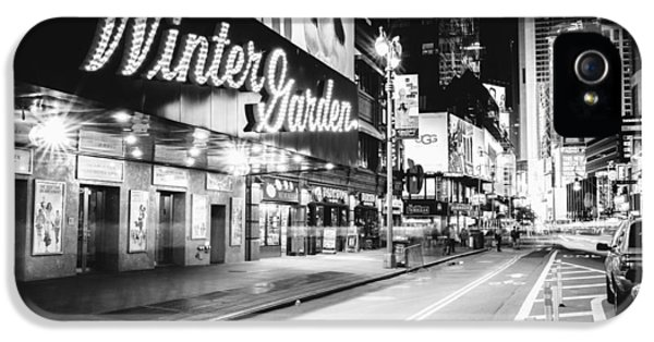 Broadway Theater - Night - New York City IPhone 5 Case by Vivienne Gucwa