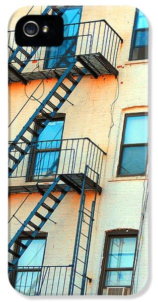 Brooklyn Fire Escape IPhone 5 Case by Jon Woodhams