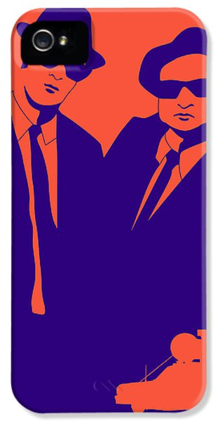 Brothers Poster IPhone 5 Case by Naxart Studio