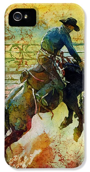 Bucking Rhythm IPhone 5 Case by Hailey E Herrera