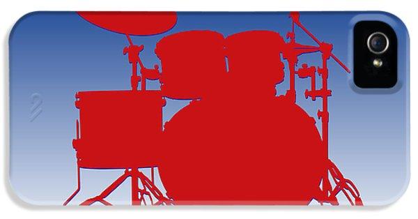 Buffalo Bills Drum Set IPhone 5 Case by Joe Hamilton