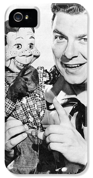 Buffalo Bob And Howdy Doody IPhone 5 Case by Underwood Archives