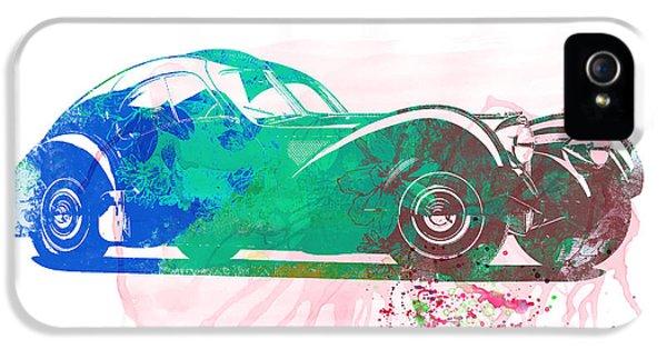 Bugatti Atlantic Watercolor 1 IPhone 5 Case