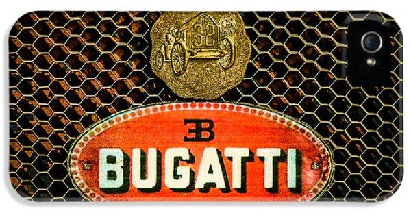 Bugatti Emblem -0903c IPhone 5 Case