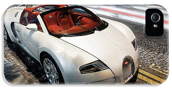 Bugatti Is Art In Motion  IPhone 5 Case by Marvin Blaine