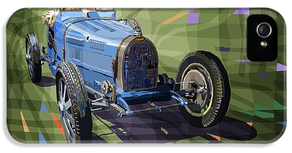 Bugatti Type 35 IPhone 5 Case by Yuriy Shevchuk