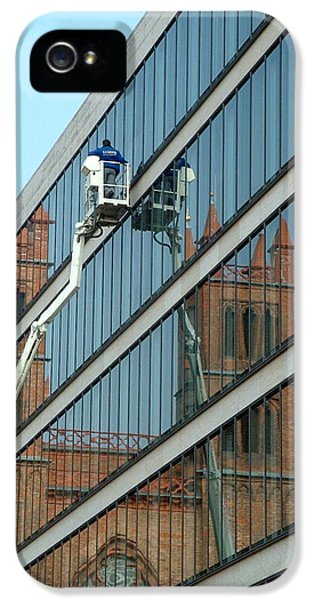 IPhone 5 Case featuring the photograph Building New by Marc Philippe Joly