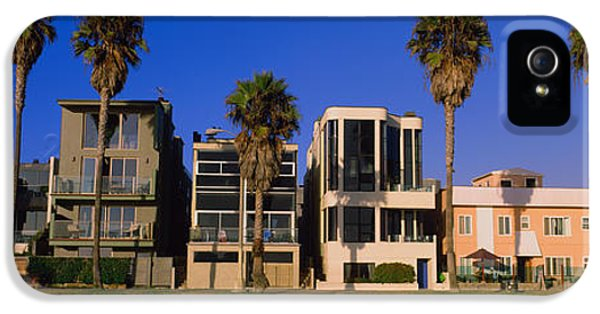 Buildings In A City, Venice Beach, City IPhone 5 / 5s Case by Panoramic Images