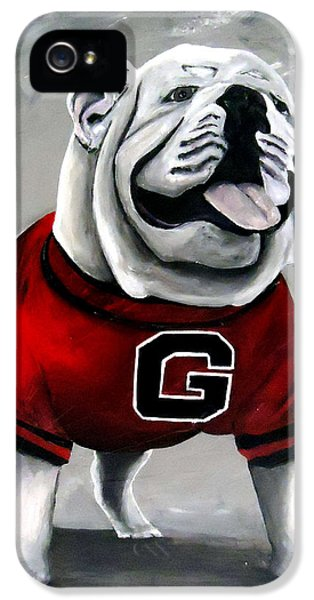 Uga Bullog Damn Good Dawg IPhone 5 Case