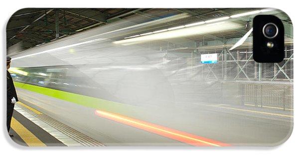 Bullet Train IPhone 5 Case by Sebastian Musial