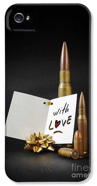 Bullets For You IPhone 5 Case by Carlos Caetano