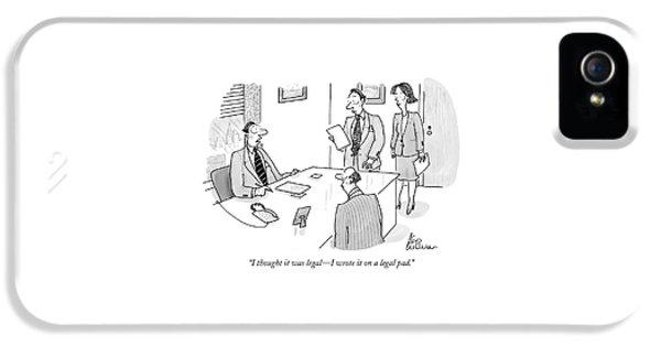 Businessman To Associates IPhone 5 Case