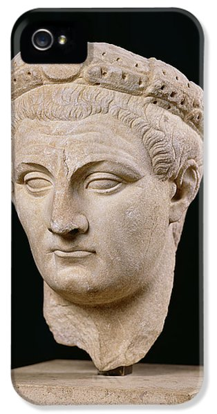 Bust Of Emperor Claudius IPhone 5 Case by Anonymous