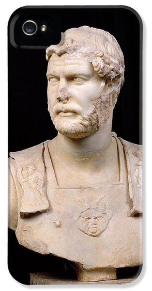 Bust Of Emperor Hadrian IPhone 5 Case by Anonymous