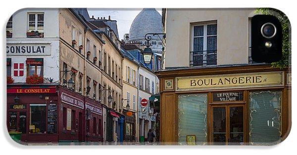 Butte De Montmartre IPhone 5 Case by Inge Johnsson