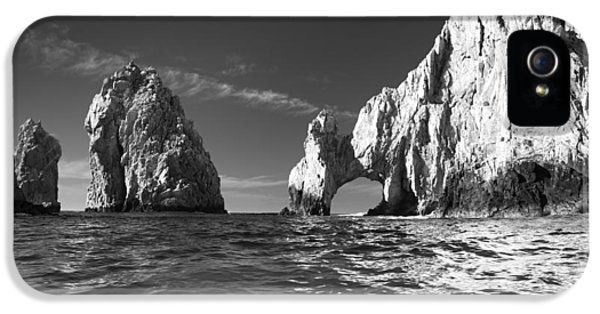 Cabo In Black And White IPhone 5 Case by Sebastian Musial