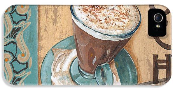 Cafe Nouveau 1 IPhone 5 Case by Debbie DeWitt
