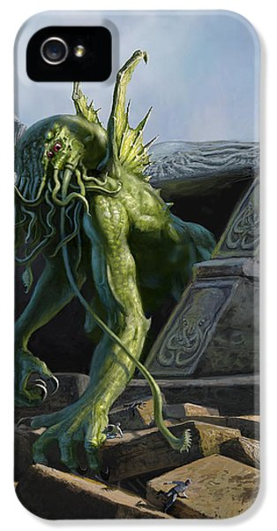 Call Of Cthulhu IPhone 5 Case
