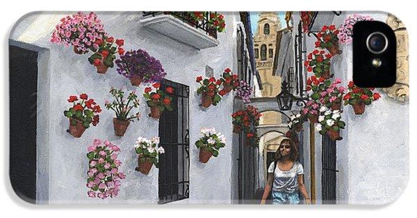 Calle De Las Flores Cordoba IPhone 5 Case