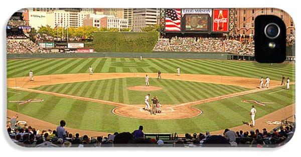 Camden Yards Baseball Game Baltimore IPhone 5 Case