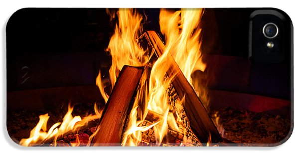 Camp Fire IPhone 5 Case by Dutourdumonde Photography