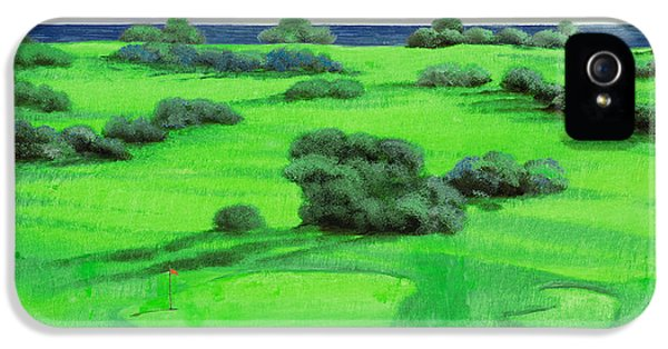 Campo Da Golf IPhone 5 Case by Guido Borelli