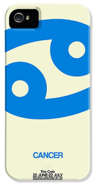 Cancer Zodiac Sign Blue IPhone 5 Case