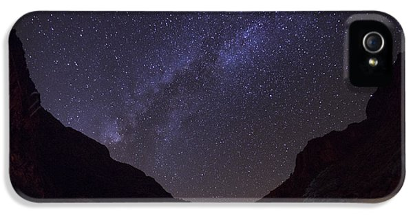 Canopy Of Stars IPhone 5 Case by Aaron Bedell
