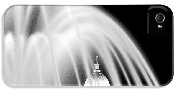 Capitol Fountain IPhone 5 Case by Todd Klassy