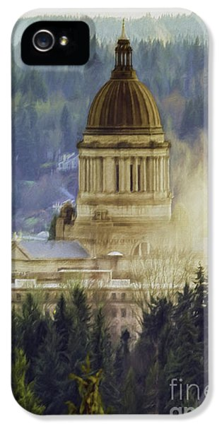 Capitol Mist IPhone 5 Case