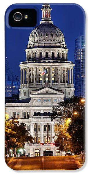 Capitol Of Texas IPhone 5 Case by Silvio Ligutti