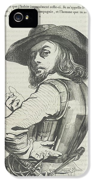 Gil iPhone 5 Case - Captain Rolando by British Library