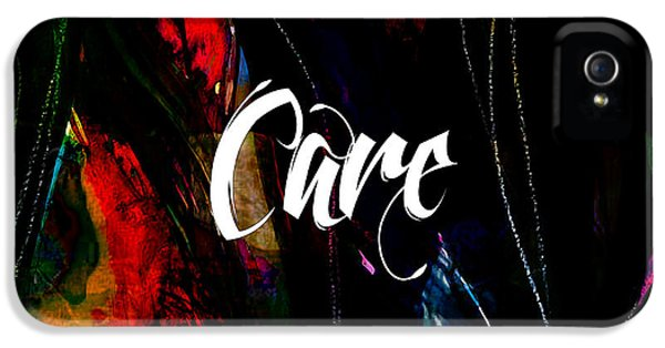 Care IPhone 5 / 5s Case by Marvin Blaine