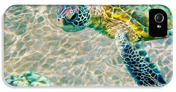 Beautiful Sea Turtle IPhone 5 Case