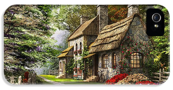 Carnation Cottage IPhone 5 Case by Dominic Davison