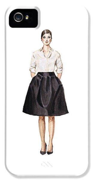 Carolina Herrera Classic Look IPhone 5 / 5s Case by Jazmin Angeles