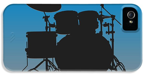 Carolina Panthers Drum Set IPhone 5 Case by Joe Hamilton