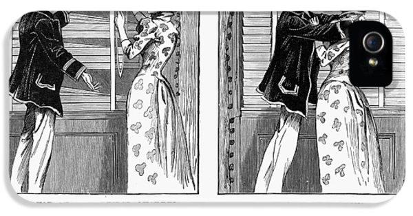 Carr's Venetian Blind 1896 IPhone 5 Case by Granger
