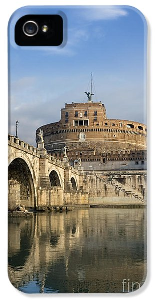 Castel Sant'angelo IPhone 5 Case by Rod McLean