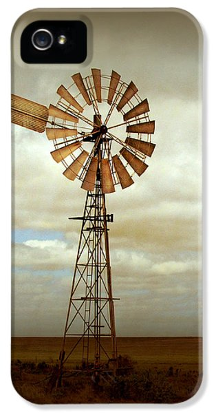 Rural Scenes iPhone 5 Case - Catch The Wind by Holly Kempe