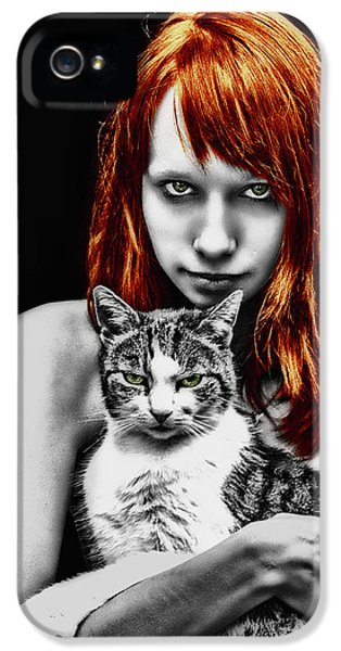 Cats IPhone 5 Case by Joachim G Pinkawa